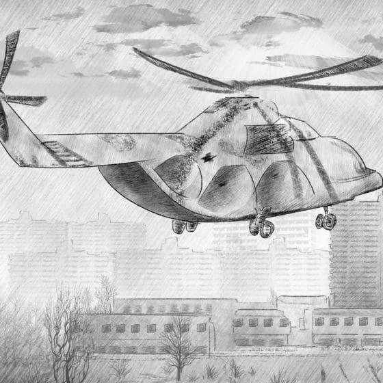 Chernobyl: último vuelo del MI-8
