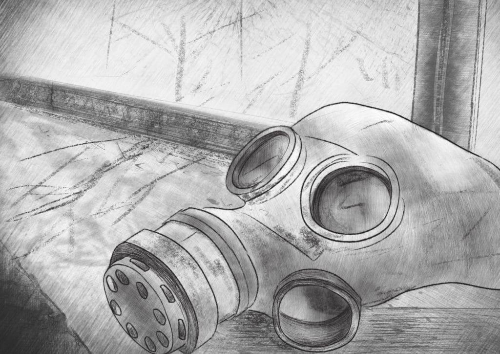 Chernobyl: residuos radiactivos