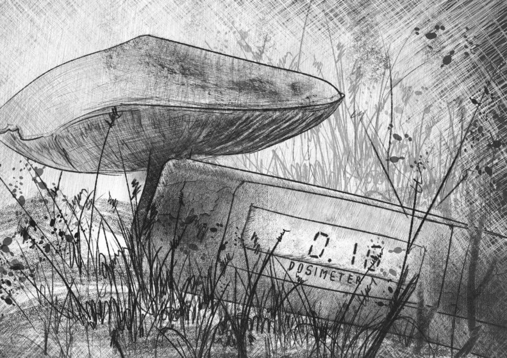 Chernobyl: bosque oxidado